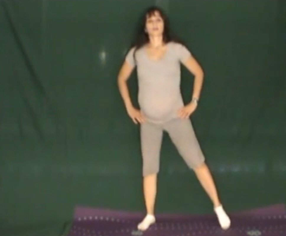 ćwiczenia, ćwiczenia w ciąży, aerobik w ciąży