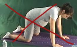 ćwiczenia w ciąży, ból kolan