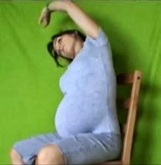 ćwiczenia w ciąży rozciąganie mięśni