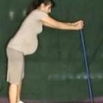 Ćwiczenie rozciągające dolną i wzmacniające górną część kręgosłupa