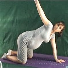 ćwiczenia pleców w ciąży