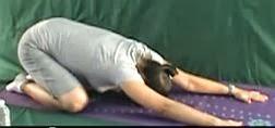 ćwiczenia w ciąży, ukłon japoński