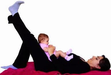 ćwiczenia z dzieckiem, baby exercises, exercises with a baby,