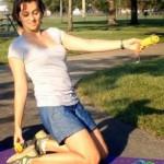 Jak w ciekawy sposób wzmocnić mięśnie ud, pośladków i brzucha?