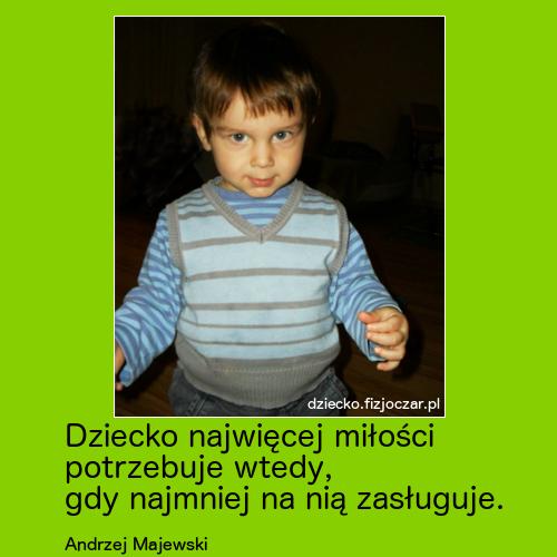 dziecko aforyzmy