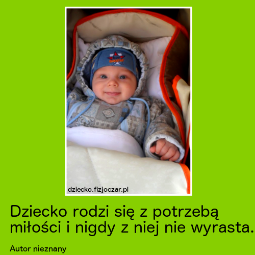 dziecko, cytaty