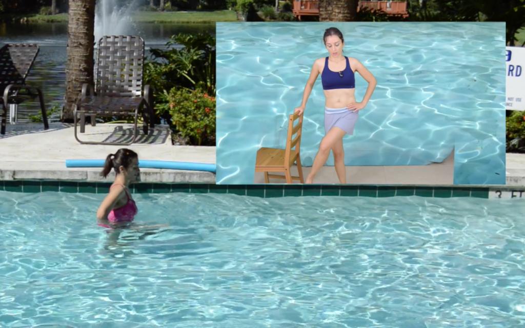 ćwiczenia, w wodzie, aqua, aqua aerobics, aquaaerobik,