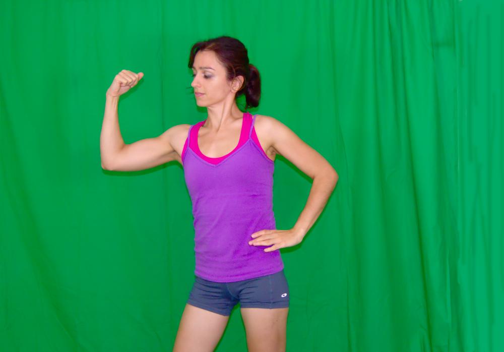 ćwiczenia, ramiona, klatka piersiowa, odchudzanie, trening, ćwiczenia siłowe