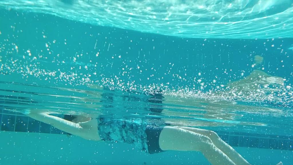 pływanie, oswajanie z wodą