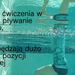 Świetne ćwiczenia w wodzie i pływanie dla osób, które spędzają dużą ilość czasu w pozycji siedzącej