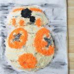 Ekstremalnie zdrowy i pyszny tort BB-8 z Gwiezdnych Wojen