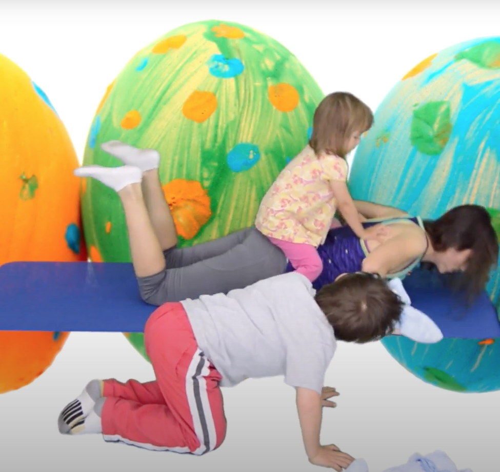 trening z dzieckiem