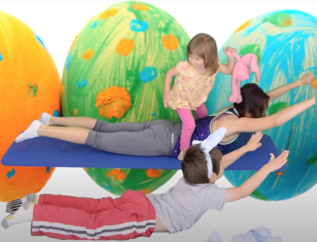 ćwiczenia z dzieckiem w domu