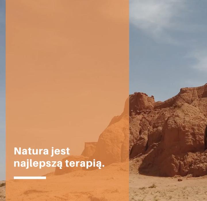 natura jest najlepszą terapią