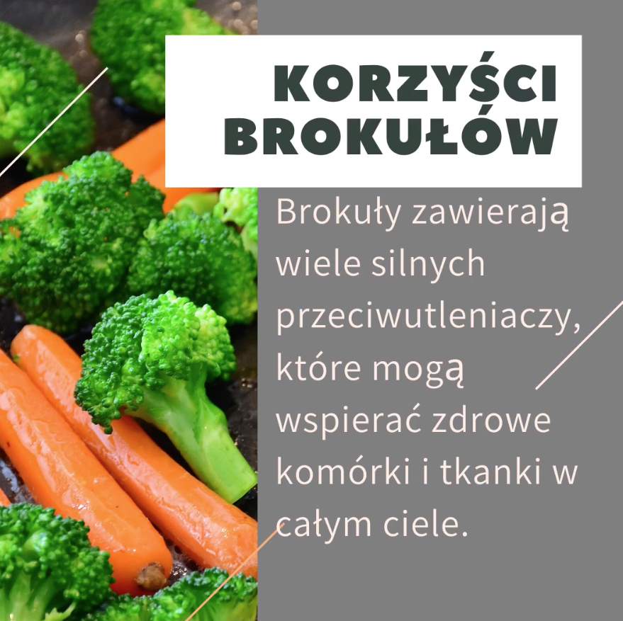 korzyści brokułów