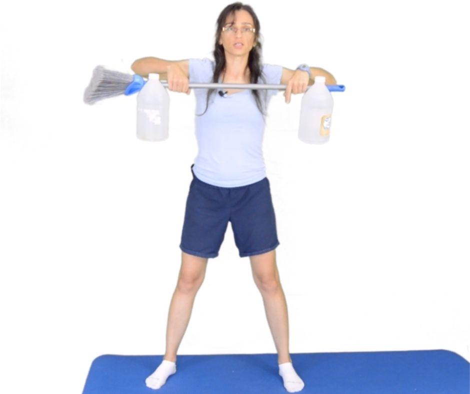 ćwiczenia na splalanie tłuszczu z ramion