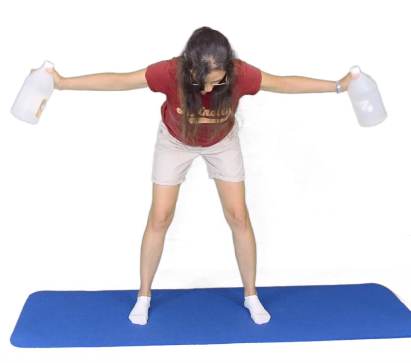 ćwiczenia na plecy dla dziewczyn