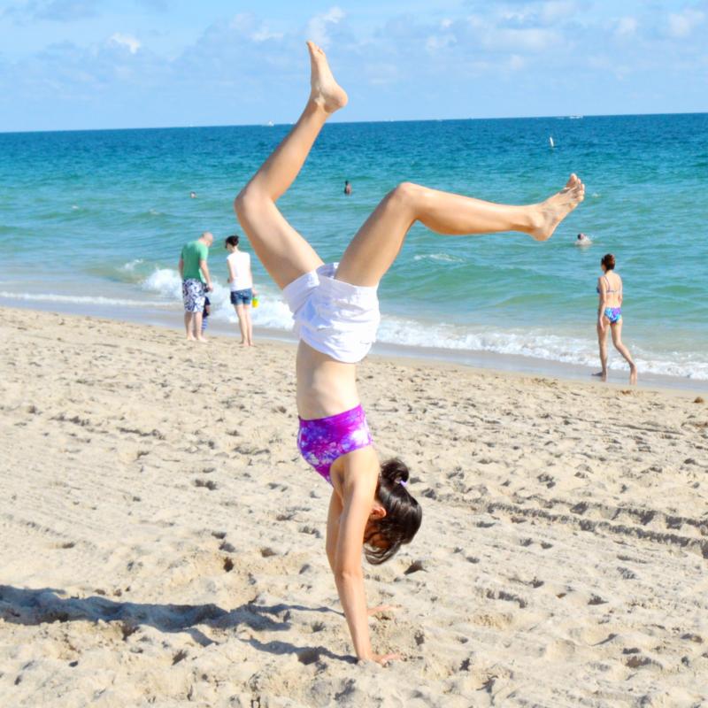 anisa glen na plaży